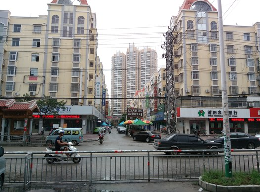 莆田火车站黄石镇镇中心 28层观全镇镇景