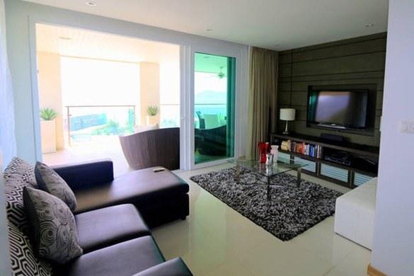 普吉岛住宿 3卧室海景公寓 芭东   此房型有2套,实际入住与此可能略有